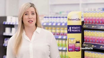 Renew Life Ultimate Flora Probiotic Women's Care TV Spot, 'MediFacts: Digestive Issues' - Thumbnail 3