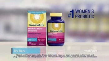 Renew Life Ultimate Flora Probiotic Women's Care TV Spot, 'MediFacts: Digestive Issues' - Thumbnail 5