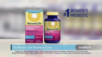 Renew Life Ultimate Flora Probiotic Women's Care TV Spot, 'MediFacts: Digestive Issues' - Thumbnail 6