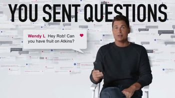Atkins TV Spot, 'Questions: Confusion' Featuring Rob Lowe - 782 commercial airings