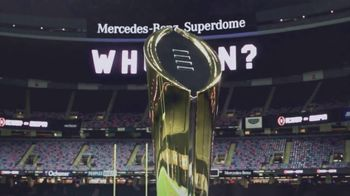 ESPN TV Spot, 'AT&T: Watch in 4K: College Football Championship'