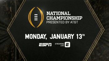 ESPN TV Spot, 'AT&T: Watch in 4K: College Football Championship' - Thumbnail 5