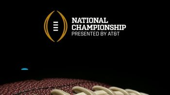 ESPN TV Spot, 'AT&T: Watch in 4K: College Football Championship' - Thumbnail 8