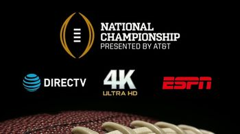 ESPN TV Spot, 'AT&T: Watch in 4K: College Football Championship' - Thumbnail 9