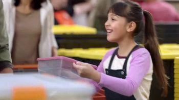 The Home Depot Store More Save More Event TV Spot, 'De-Clutter: HDX Tough Totes' - Thumbnail 3