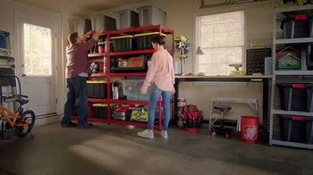 The Home Depot Store More Save More Event TV Spot, 'De-Clutter: HDX Tough Totes' - Thumbnail 6