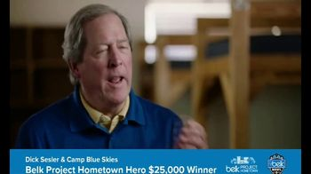 Belk TV Spot, 'Project Hometown: Camp Blue Skies'
