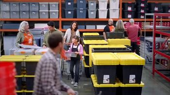 The Home Depot Store More Save More Event TV Spot, 'De-Clutter: Husky Shelving'