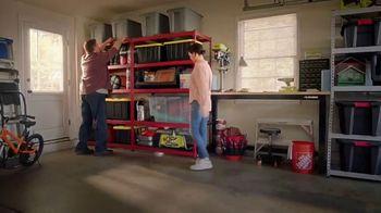 The Home Depot Store More Save More Event TV Spot, 'De-Clutter: Husky Shelving' - Thumbnail 7