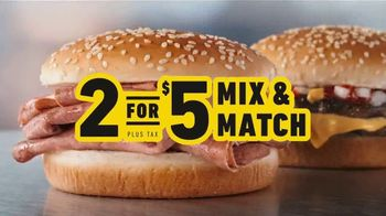 Hardee's 2 for $5 Mix and Match TV Spot,' Kicking off the Year' - Thumbnail 3