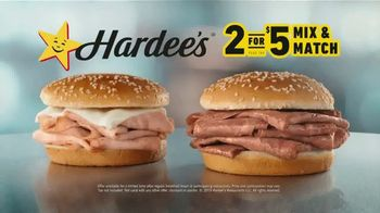 Hardee's 2 for $5 Mix and Match TV Spot,' Kicking off the Year' - Thumbnail 6