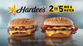 Hardee's 2 for $5 Mix and Match TV Spot,' Kicking off the Year' - Thumbnail 7