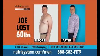 Nutrisystem BOGO Sale TV Spot, 'Nutrisystem for Men: Without Going Hungry'