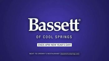 Bassett New Year Sale TV Spot, 'Discounts and Six Years No-Interest' - Thumbnail 8