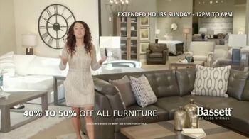 Bassett New Year Sale TV Spot, 'Discounts and Six Years No-Interest' - Thumbnail 3