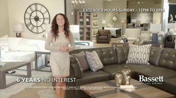 Bassett New Year Sale TV Spot, 'Discounts and Six Years No-Interest' - Thumbnail 4