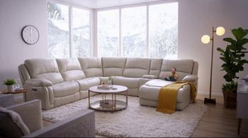 Bob's Discount Furniture Titan Six Piece Sectional TV Spot, 'Serious Binge Watching' - Thumbnail 9