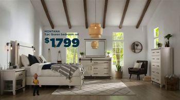 Bob's Discount Furniture TV Spot, 'Great Plains: Montana Bedroom Set' - Thumbnail 3