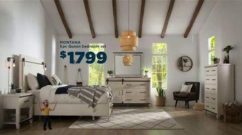 Bob's Discount Furniture TV Spot, 'Great Plains: Montana Bedroom Set' - Thumbnail 4