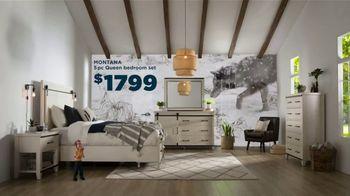 Bob's Discount Furniture TV Spot, 'Great Plains: Montana Bedroom Set' - Thumbnail 9