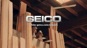 GEICO TV Spot, 'Woodchucks Sequel: Lumber Yard'