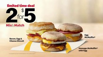 McDonald's 2 for $5 Mix & Match TV Spot, 'Wake up Breakfast: Pressure Washer' - Thumbnail 9
