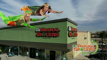 Natural Grocers TV Spot, 'Health Crusader and Organica Girl: Stretch Your Dollar'