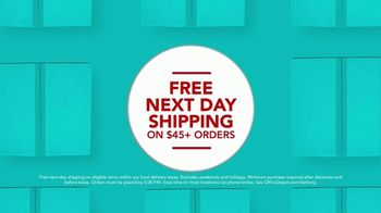 Office Depot & OfficeMax TV Spot, 'Worry-Free: Next Day Shipping' - Thumbnail 7