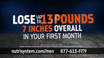 Nutrisystem BOGO Sale TV Spot, 'Nutrisystem for Men: Time to Get Healthy: 13 Pounds'