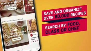 Food Network Kitchen App TV Spot, 'Step by Step Classes' - Thumbnail 6