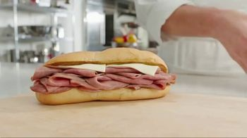 Arby's 2 for $6 Classic French Dip TV Spot, 'Dipping Beef Into More Beef' - Thumbnail 1