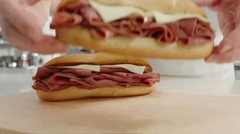 Arby's 2 for $6 Classic French Dip TV Spot, 'Dipping Beef Into More Beef' - Thumbnail 2