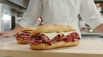 Arby's 2 for $6 Classic French Dip TV Spot, 'Dipping Beef Into More Beef' - Thumbnail 3