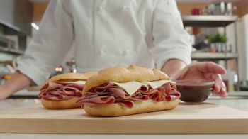 Arby's 2 for $6 Classic French Dip TV Spot, 'Dipping Beef Into More Beef' Song by YOGI - Thumbnail 4