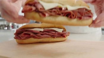Arby's 2 for $6 Classic French Dip TV Spot, 'Don't Overthink It' Song by YOGI - Thumbnail 2