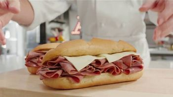 Arby's 2 for $6 Classic French Dip TV Spot, 'Don't Overthink It' Song by YOGI - Thumbnail 3