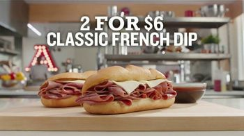 Arby's 2 for $6 Classic French Dip TV Spot, 'Don't Overthink It' Song by YOGI - Thumbnail 6