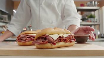 Arby's 2 for $6 Classic French Dip TV Spot, 'Don't Overthink It' Song by YOGI - 1 commercial airings