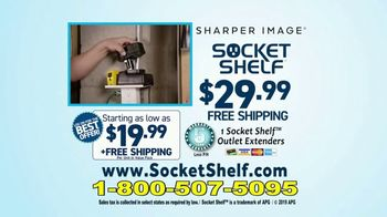 Socket Shelf TV Spot, 'Add a Shelf to Any Outlet: $29.99' - Thumbnail 10