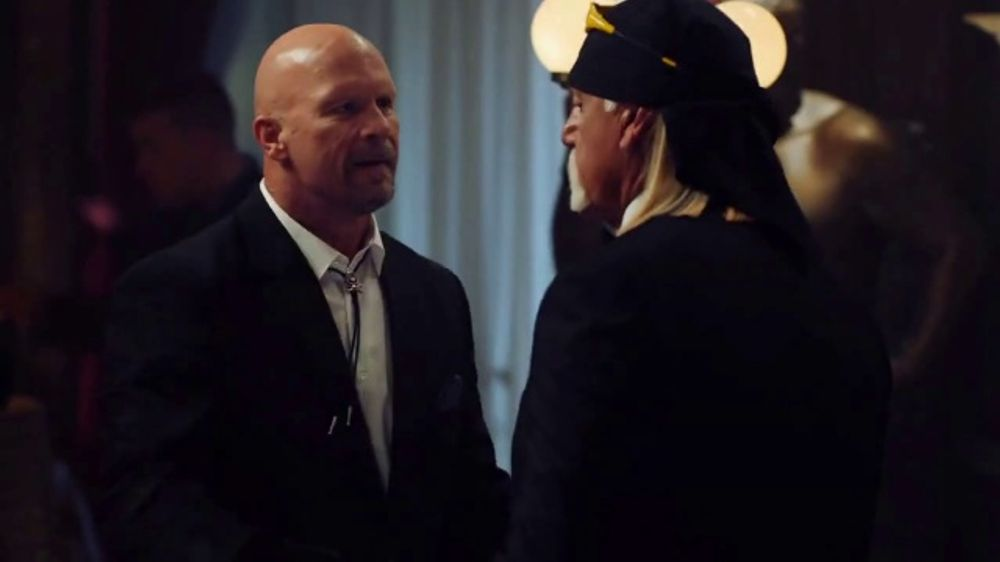 WWE 2K20 TV Commercial, 'Ballroom Brawl: Holiday Savings' Featuring Hulk Hogan, Steve Austin, Roman