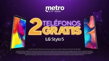 Metro by T-Mobile TV Spot, 'Fiestas: dos teléfonos gratis + tableta ' [Spanish]
