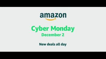 Amazon Cyber Monday Sale TV Spot, 'New Deals All Day' - Thumbnail 9