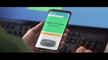 Amazon Cyber Monday Sale TV Spot, 'New Deals All Day' - Thumbnail 6