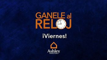 Ashley HomeStore Venta Gánale al Reloj TV Spot, 'Compre más temprano' [Spanish] - Thumbnail 8