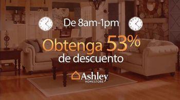 Ashley HomeStore Venta Gánale al Reloj TV Spot, 'Compre más temprano' [Spanish] - Thumbnail 4