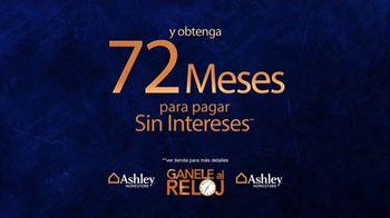 Ashley HomeStore Venta Gánale al Reloj TV Spot, 'Compre más temprano' [Spanish] - Thumbnail 6
