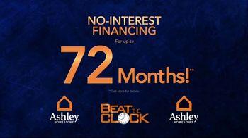Ashley HomeStore Beat the Clock Sale TV Spot, 'The Earlier You Shop: 55 Percent Off' - Thumbnail 4