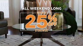 Ashley HomeStore Black Friday TV Spot, '25 Percent Off and Special Financing' - Thumbnail 4