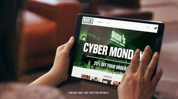 Dick's Sporting Goods Cyber Monday Sale TV Spot, 'Nike, Adidas and More' - Thumbnail 1