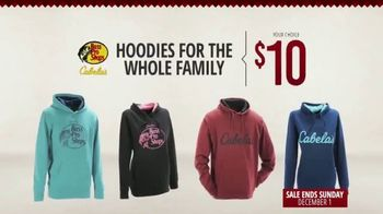 Bass Pro Shops Red Hot Specials TV Spot, 'Hoodies, Socks and Gift Cards'